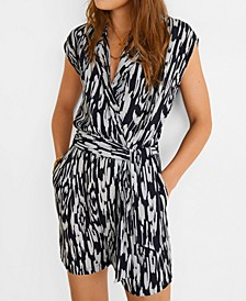 Bow Wrap Romper