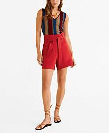 Pocket Linen Shorts