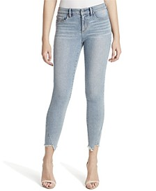 Junior Kiss Me Ankle Skinny Jeans