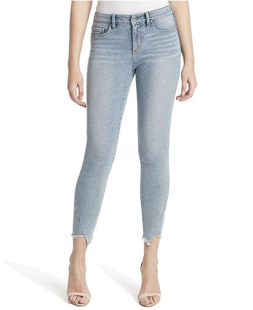 Jessica Simpson Junior Kiss Me Ankle Skinny Jeans