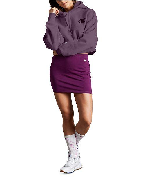 Champion Women's Reverse Weave Cropped Hoodie