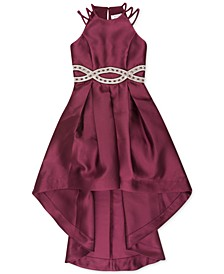 Big Girls Infinity-Waist High-Low Dress