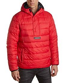 Men's Lightweight Popover Puffer Jacket