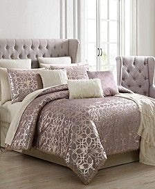 Sadie 14-Pc. Queen Comforter Set