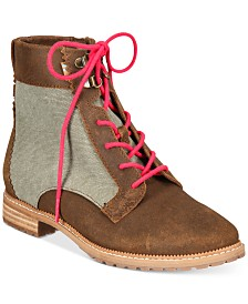 TOMS Women's Nolita Lace-Up Booties