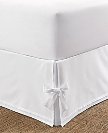 Tailored Queen Bedskirt with Corner Ties