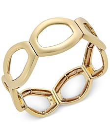 Gold-Tone Open-Circle Stretch Bracelet, Created For Macy's