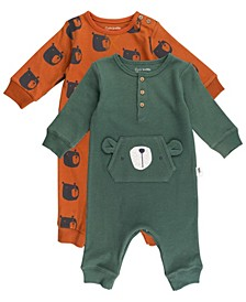 Baby Boy 2-Pack Unionsuits