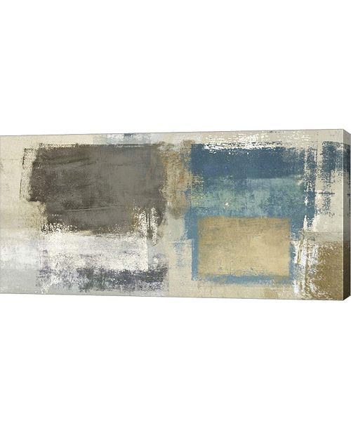"""Metaverse Abstract Levitation by Ludwig Maun Canvas Art, 32"""" x 16"""""""