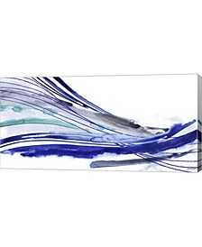 "Wave Surge II by Grace Popp Canvas Art, 32"" x 16"""