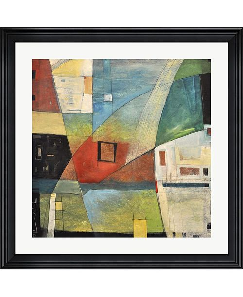"Metaverse Bemsha Swing by Tim Nyberg Framed Art, 32"" x 32"""