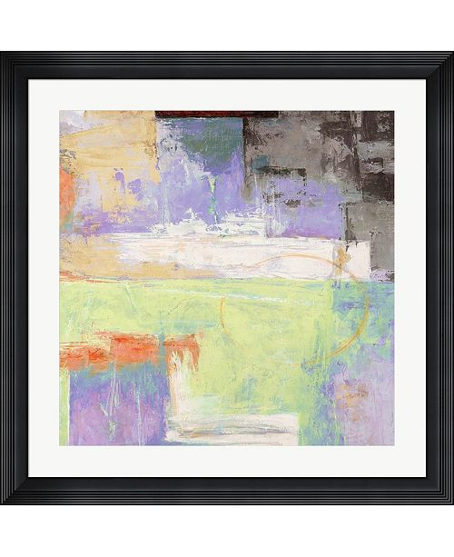 "Metaverse The Island II by Alessio Aprile Framed Art, 32"" x 32"""