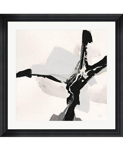 """Metaverse Creamy Neutral III by Chris Paschke Framed Art, 32"""" x 32"""""""