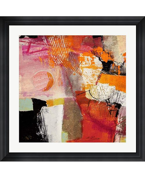 "Metaverse Colors of Summer I by Arthur Pima Framed Art, 32"" x 32"""