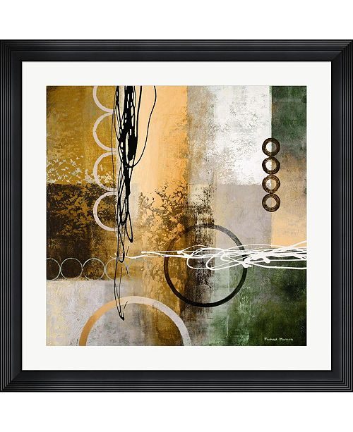 """Metaverse Intersect I by Michael Marcon Framed Art, 32"""" x 32"""""""