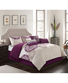 Vilate 7-Pc. Queen Comforter Set