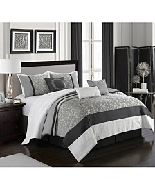 Willow 7-Piece  California King Comforter Set