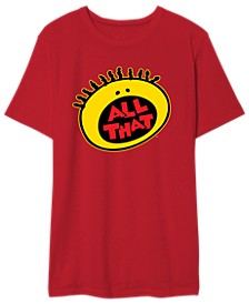 Nickelodeon Men's All That Graphic Tshirt