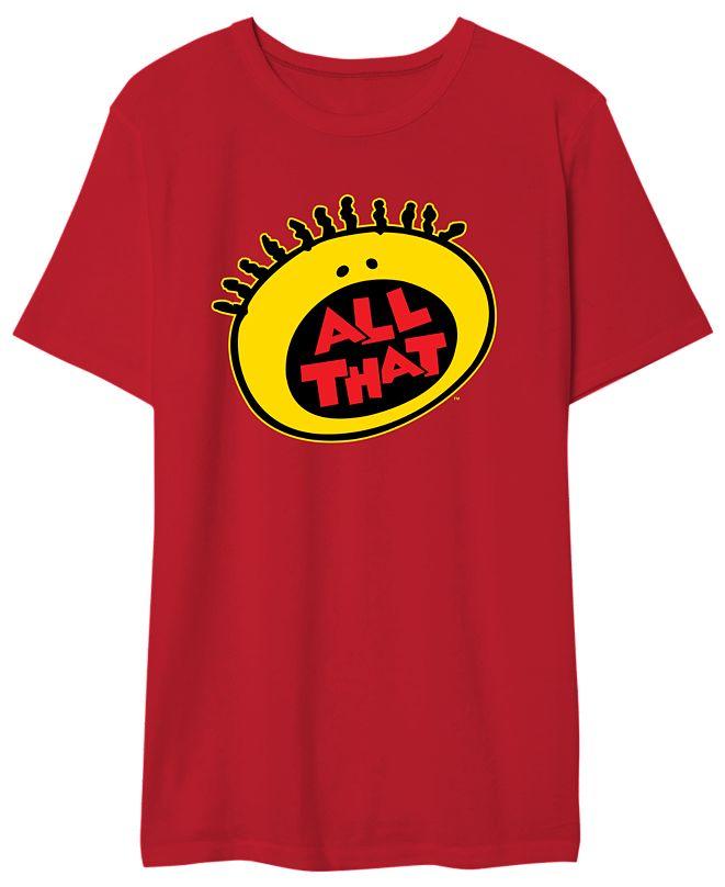 Hybrid Nickelodeon Men's All That Graphic Tshirt