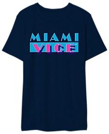 Miami Vice Men's Logo Graphic Tshirt