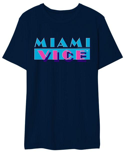 Hybrid Miami Vice Men's Logo Graphic Tshirt