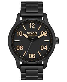Men's Patrol Stainless Steel Bracelet Watch 42mm