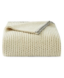 Vera Wang Heather Knit Putty Throw