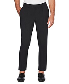 Men's Regular-Fit Performance Stretch Single Pleat Dress Pants