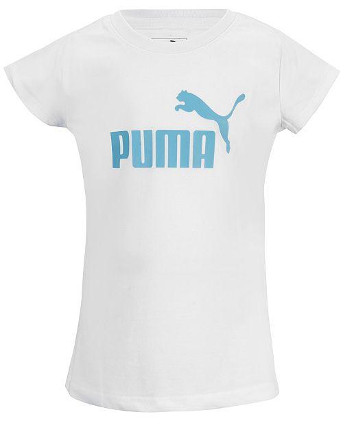 Puma Big Girls Logo-Print T-Shirt