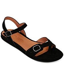 by Kenneth Cole Women's Lark Buckle Sandals