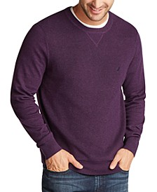 Men's Navtech Crewneck Solid Sweater