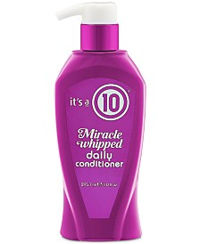 It's a 10 Miracle Whipped Daily Conditioner, 10-oz., from PUREBEAUTY Salon & Spa
