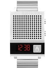 Nixon Unisex Digital Dork Too Stainless Steel Bracelet Watch 38mm