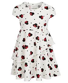 Disney Little Girls Minnie Mouse Layered Dress