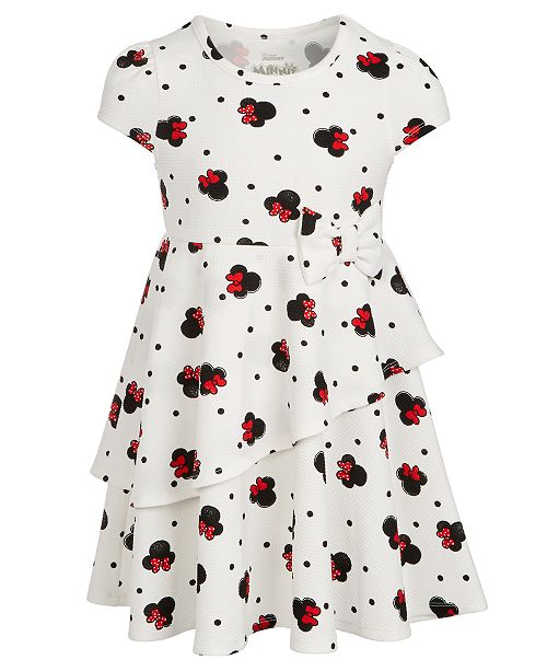 Disney Little Girls Minnie Mouse Layered Dress