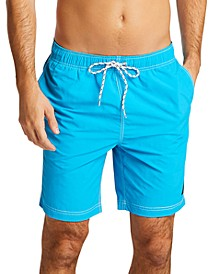 "Men's Quick Dry Nylon  8"" Swim Trunks"