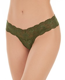 Cosabella Never Say Never Cutie Low Rise Thong NEVER03ZLVBOW, Online Only