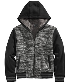 Ring of Fire Big Boys Hooded Jacket With Faux-Sherpa Lining