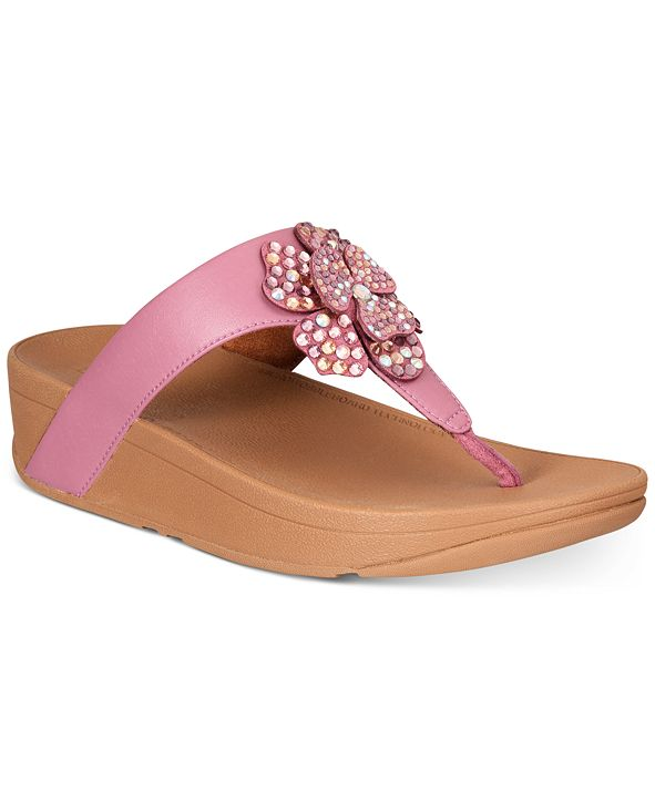 FitFlop Lottie Corsage Thong Sandals