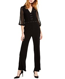 INC Studded Jumpsuit, Created For Macy's