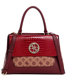 GUESS Magnolia Society Satchel