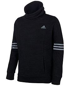 Big Girls Funnel-Neck French Terry Sweatshirt