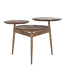 Ian 3-Circle Accent Table
