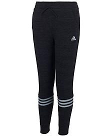 Big Girls Three-Stripe French Terry Pants