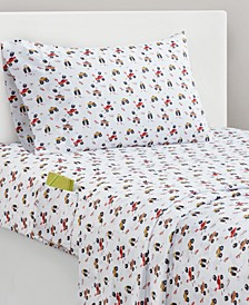 Tucker Trucks Twin Sheet Set