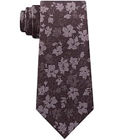 Men's Artisanal Shadow Botanical Tie