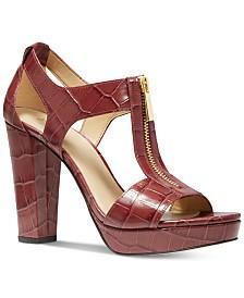 MICHAEL Michael Kors Berkley Platform Dress Sandals