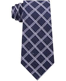 Men's Asymmetric Grid Tie