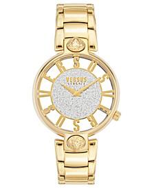 Women's Kirstenhof Gold-Tone Stainless Steel Bracelet Watch 36mm