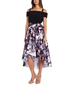 R & M Richards High-Low Dress